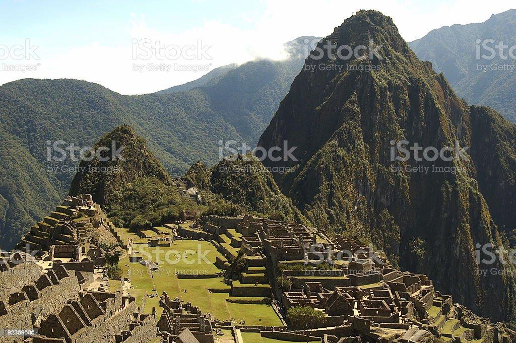 Machu Picchu zbiór zdjęć royalty-free