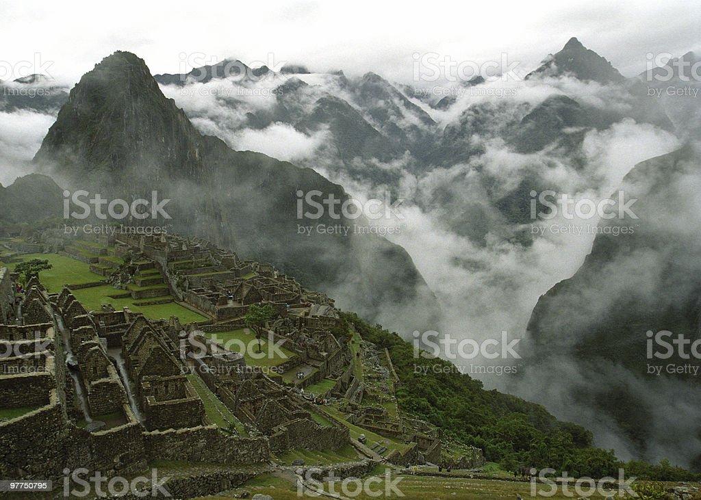 Machu Picchu (highres) royalty-free stock photo