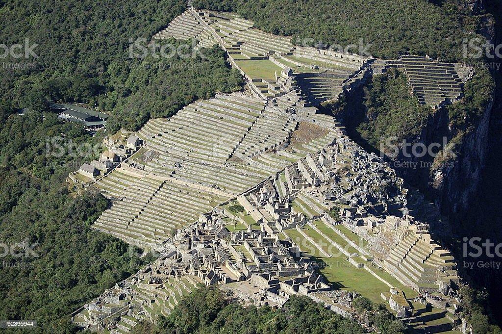 Machu Picchu ruins zbiór zdjęć royalty-free