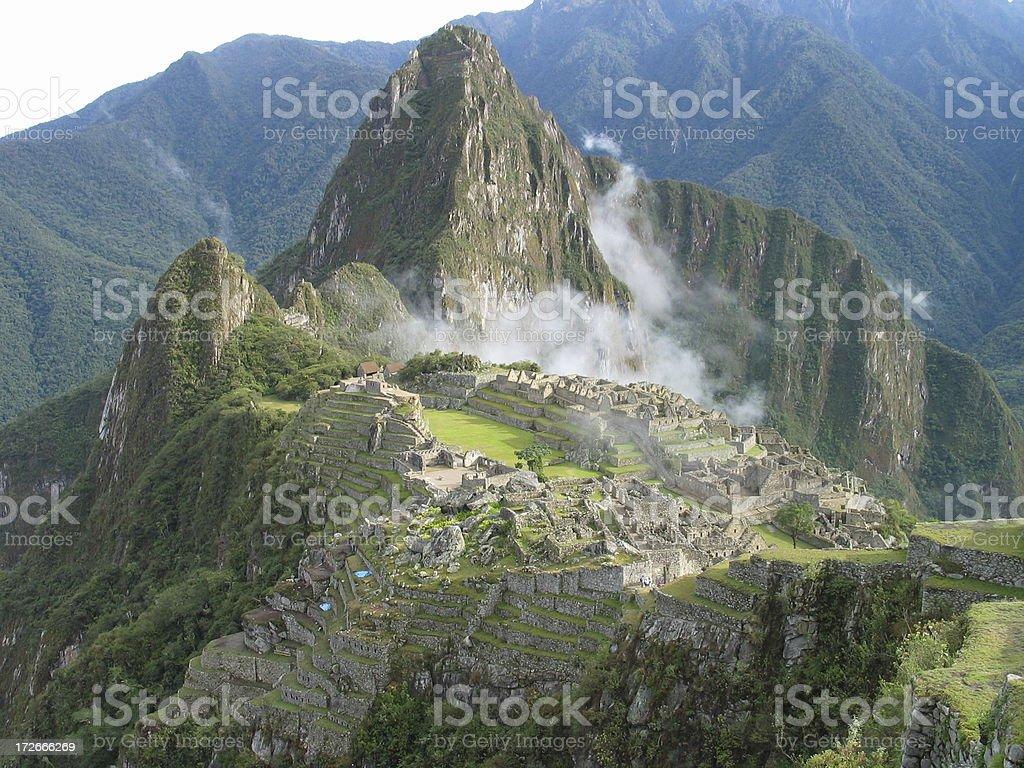 Machu Picchu Spirit stock photo