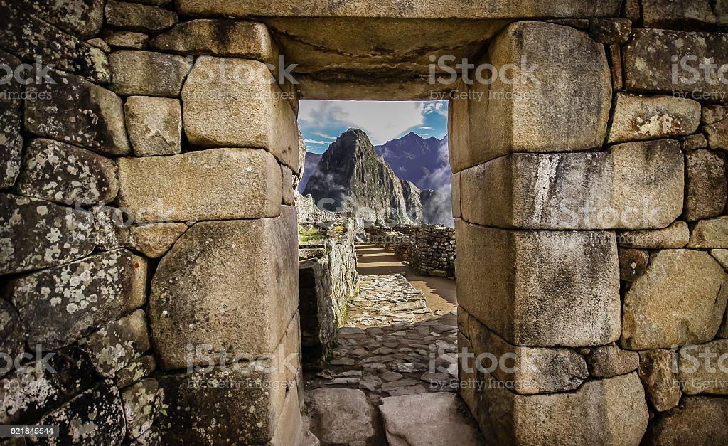 Machu Piccu stock photo