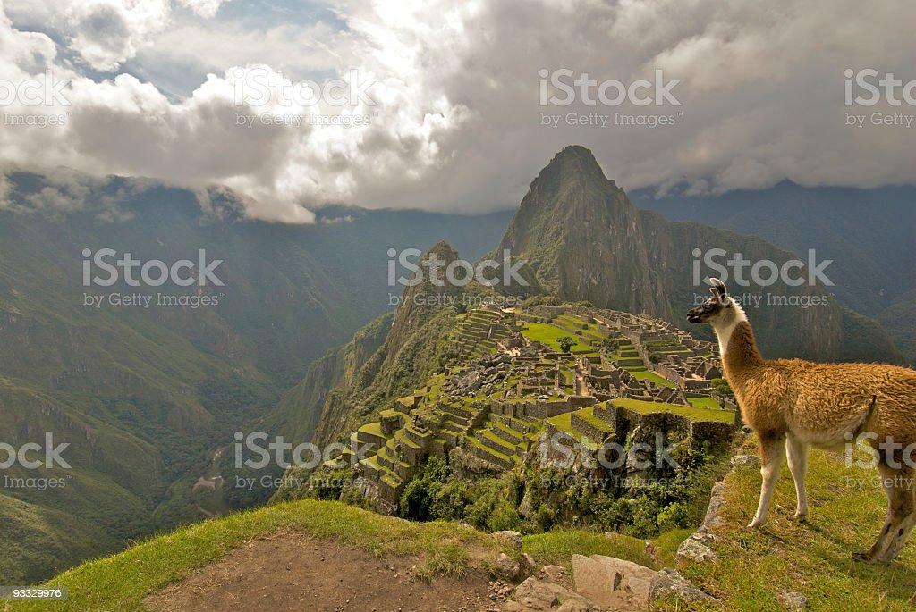 Machu Pichu, Peru stock photo