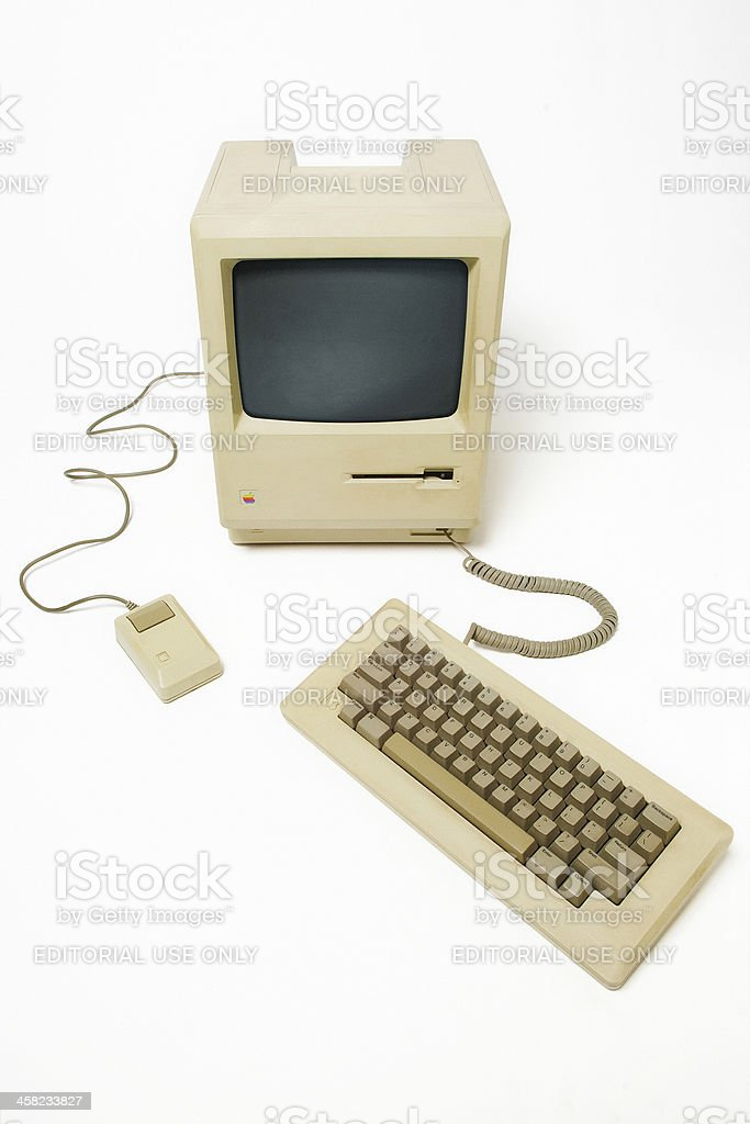 Macintosh royalty-free stock photo