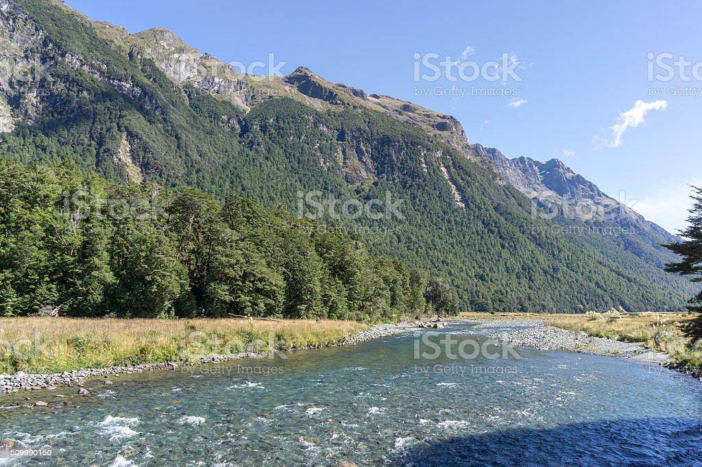 mackay creek stock photo