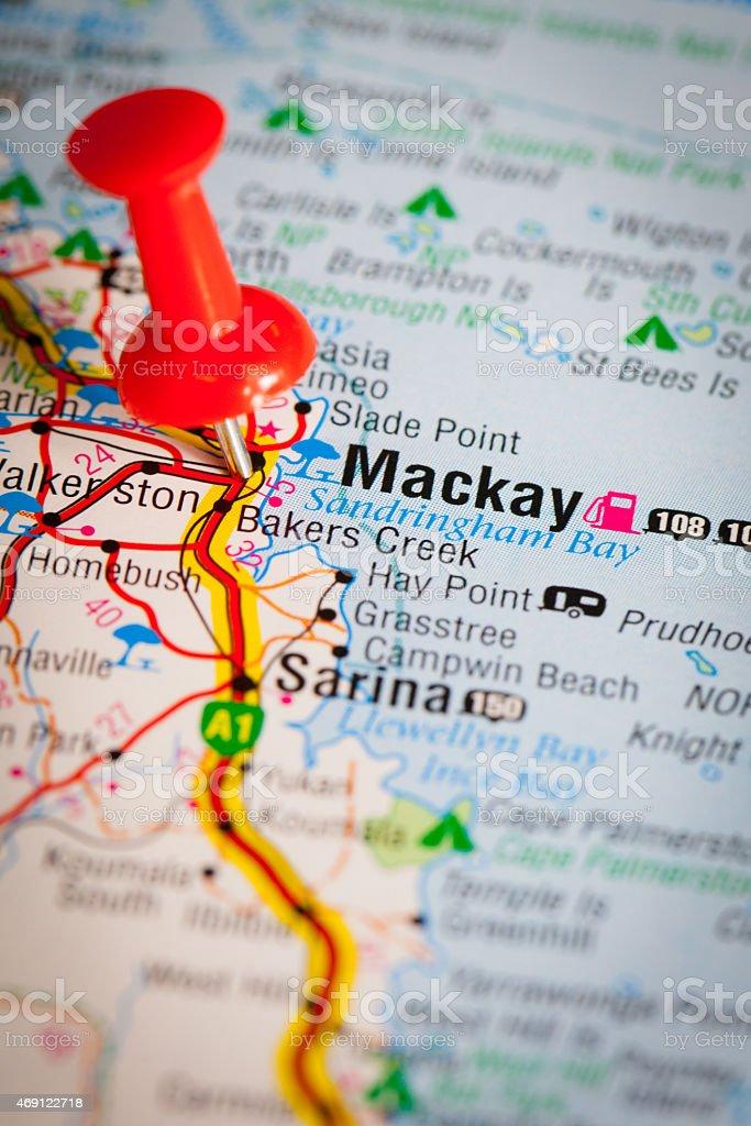 Mackay stock photo