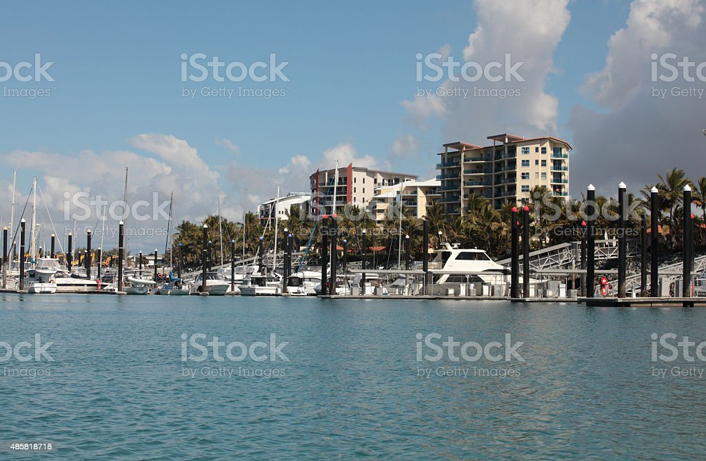 Mackay, Queensland, Australia, Mining town, Harbor, boats 5 stock photo