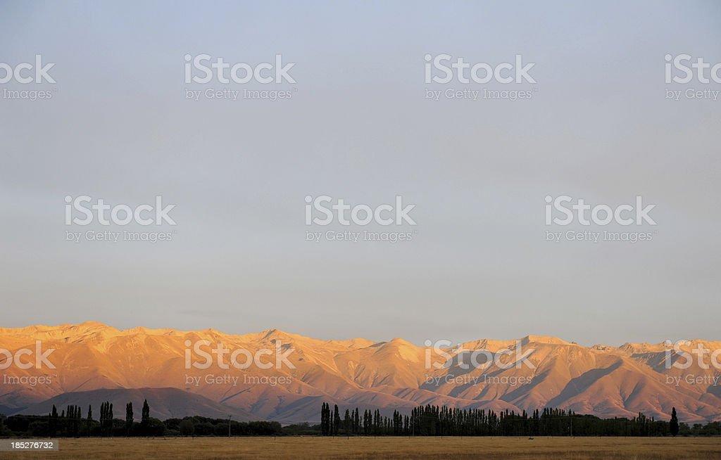 MacKenzie Country dawn stock photo