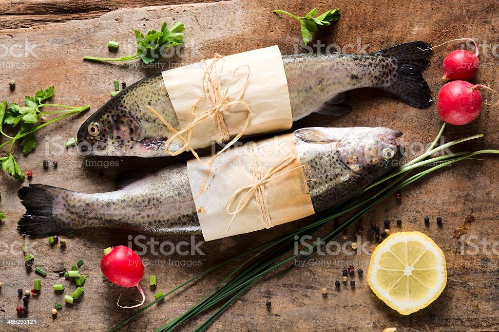 Mackerel fish royalty-free stock photo
