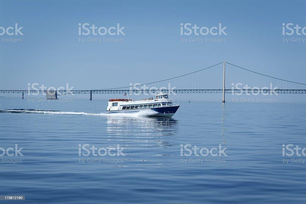 Mackinac Island Ferry stock photo