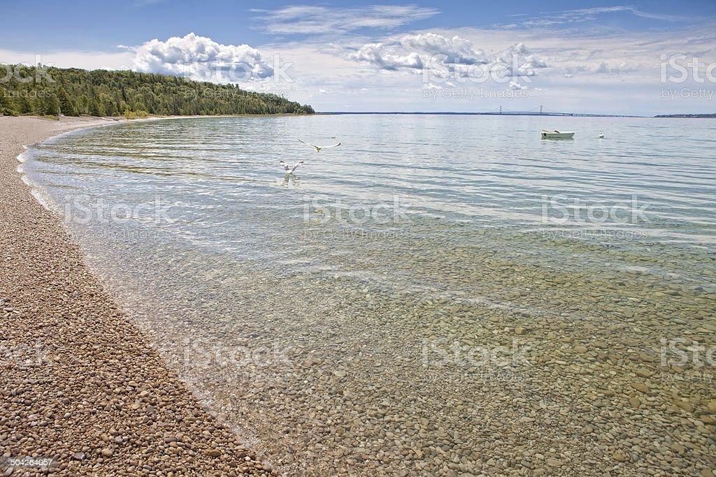 Mackinac Island stock photo