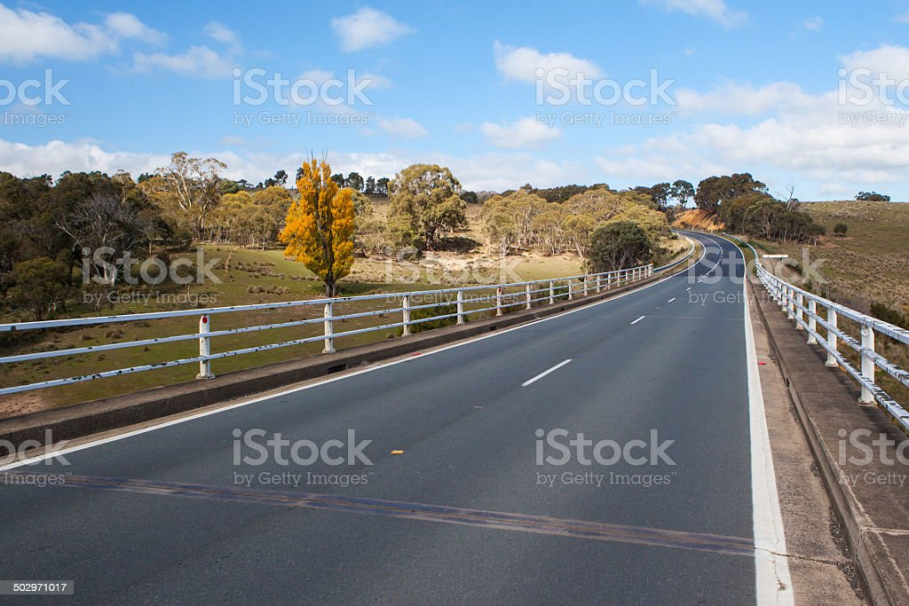 Maclaughlin River Crossing stock photo