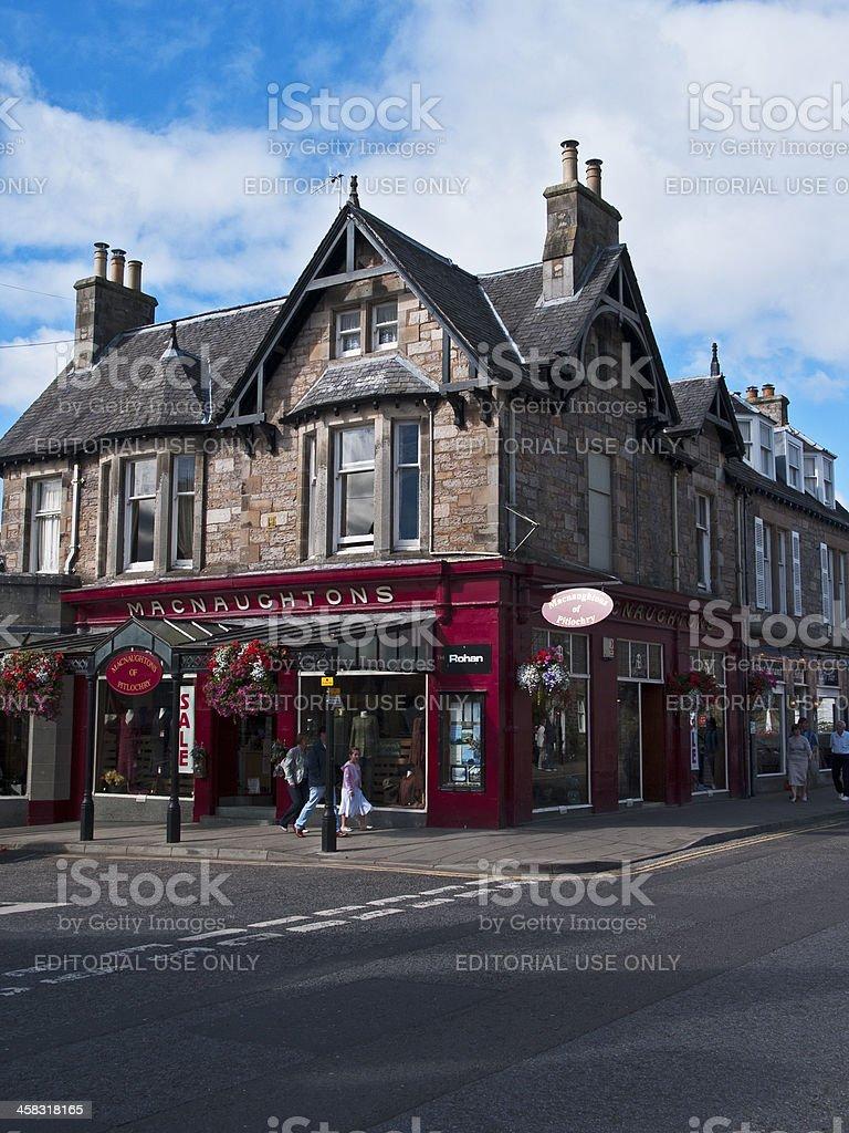 Macnaughtons of Pitlochry stock photo