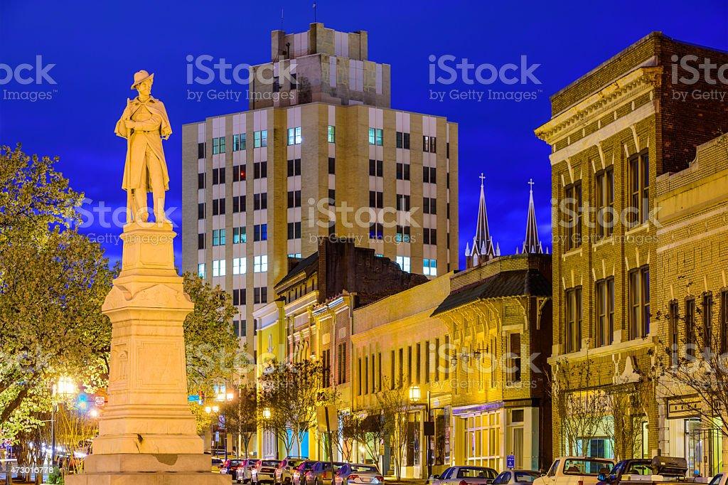 Macon Georgia Cityscape stock photo