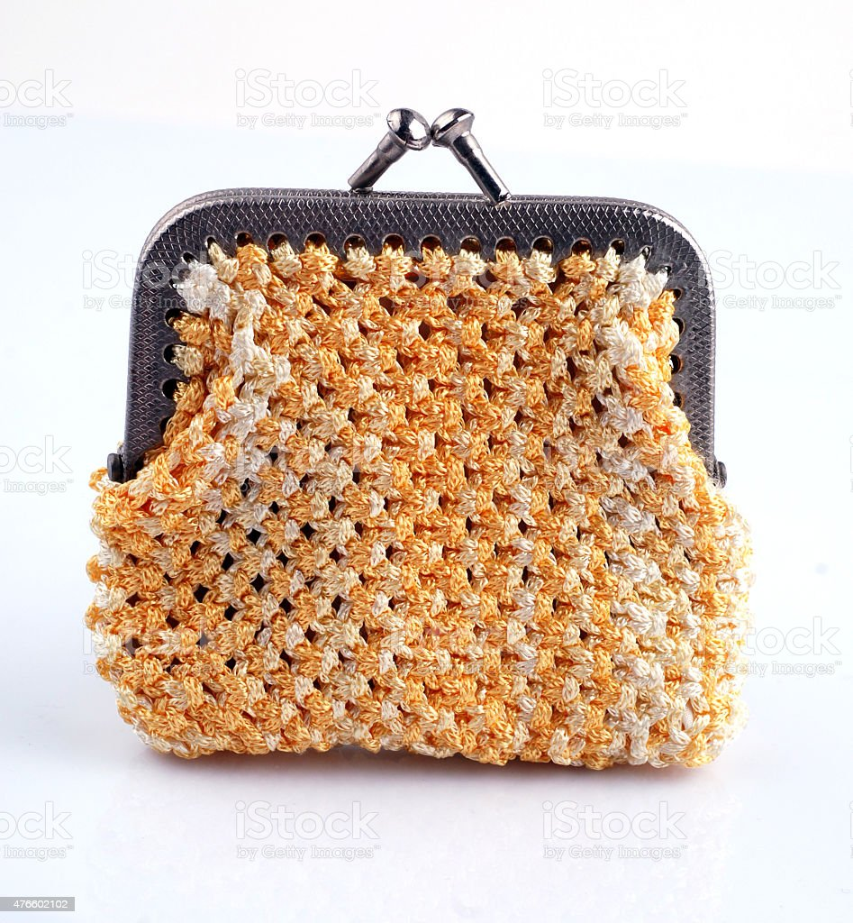macrame bag-1 stock photo