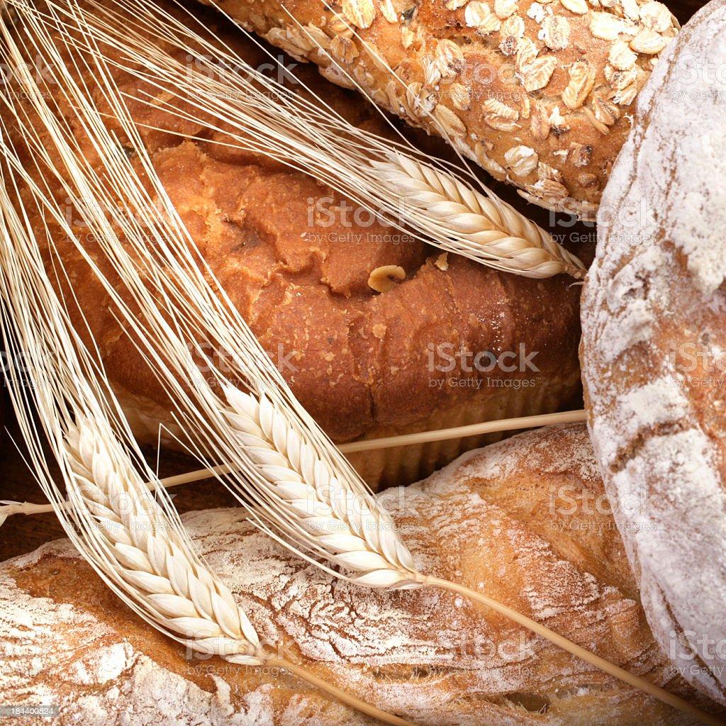 Macro Bread royalty-free stock photo