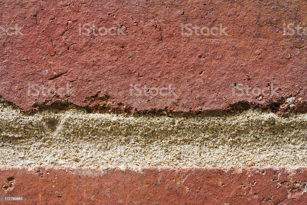 Macro Brick Detail royalty-free stock photo