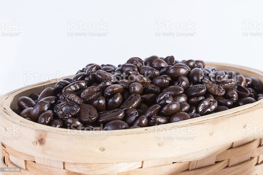 macro close up coffee beans royalty-free stock photo