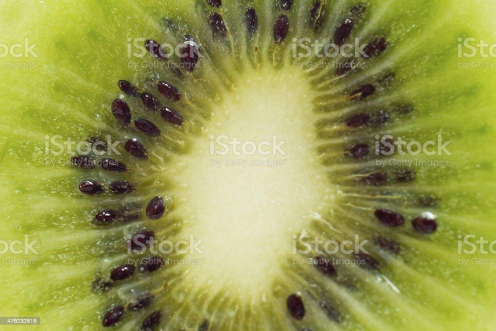 macro kiwi stock photo