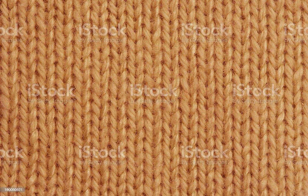 Macro of a woolen Pattern royalty-free stock photo