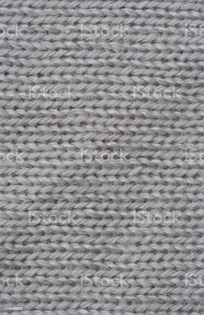 Macro of Knitting Pattern royalty-free stock photo