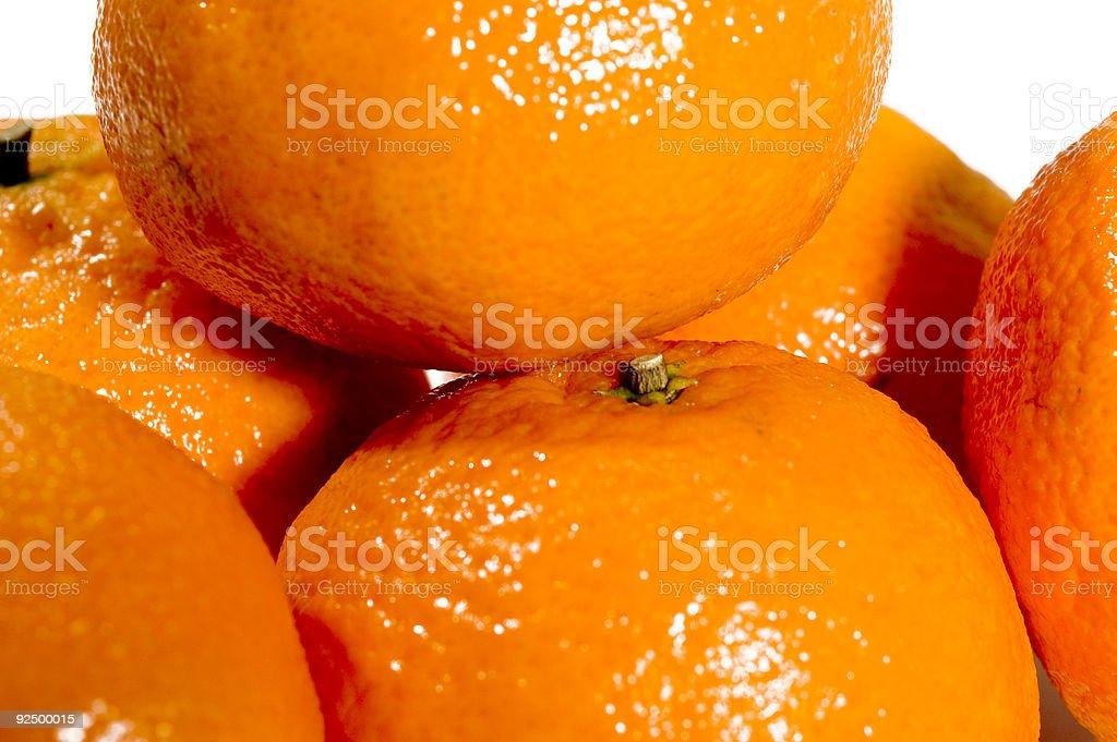 Macro Oranges royalty-free stock photo
