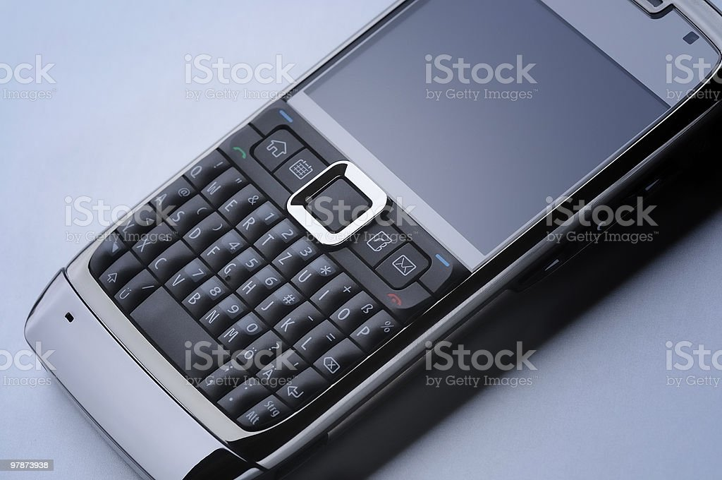 macro photograph of a smart cell phone royalty-free stock photo