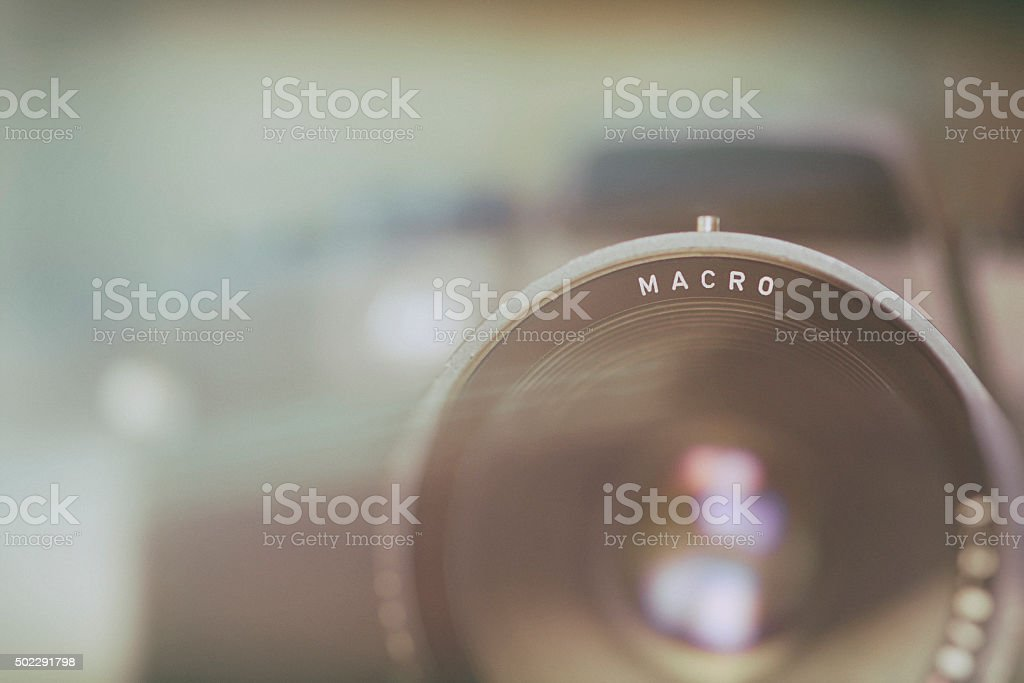 Macro Photography Camera Technique Background Image stock photo