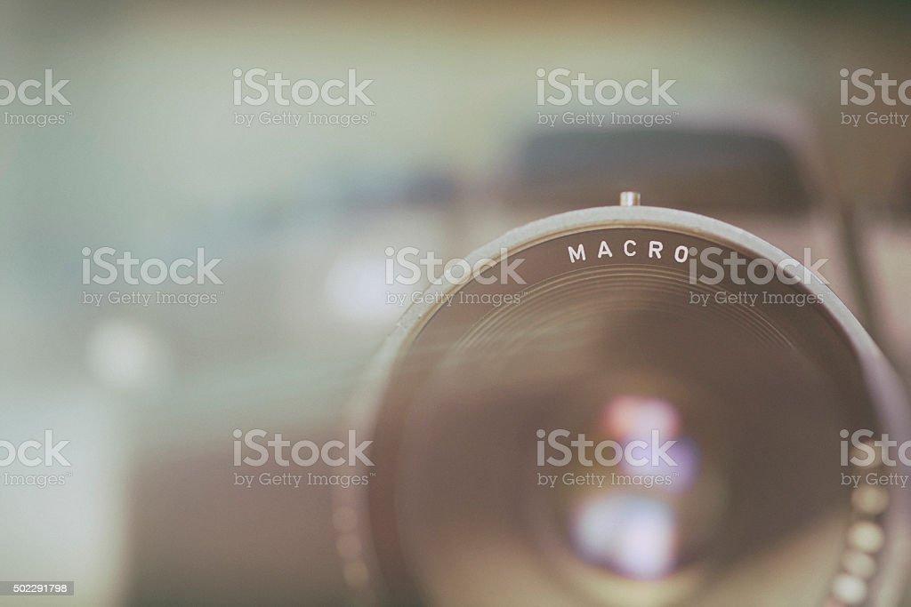Macro Photography Camera Technique Background Image stock photo