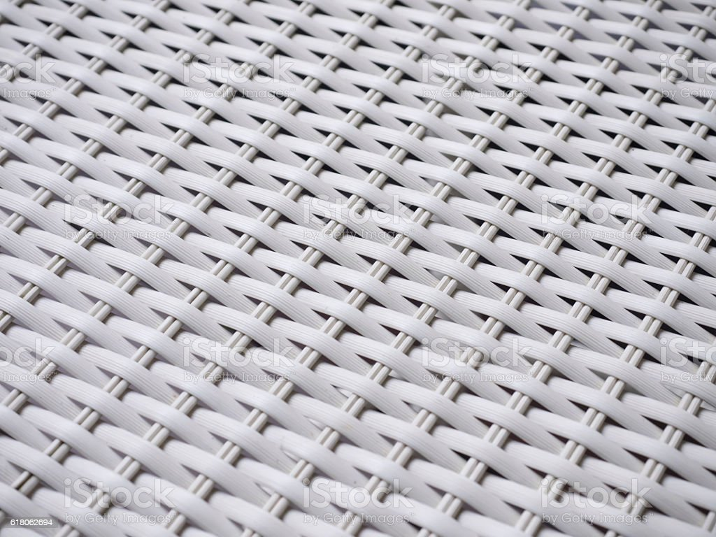 Macro shot of a plastic chair webbing for a background stock photo