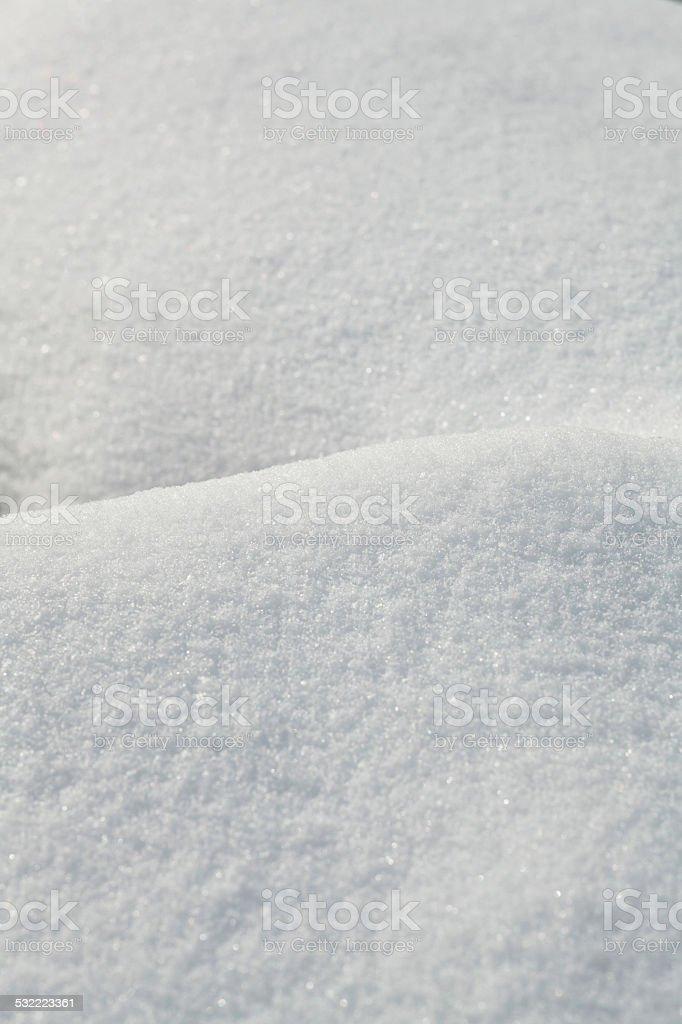 macro snow dune background stock photo