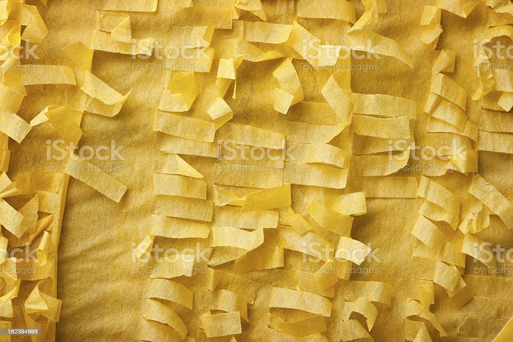 Macro Tissue Paper Fringe royalty-free stock photo