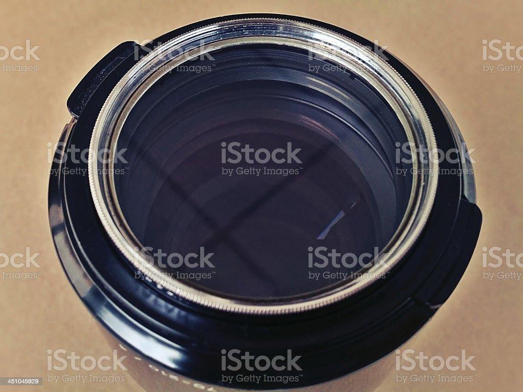 Macro Zoom Lens stock photo