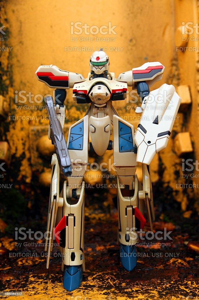 Macross Plus Battloid stock photo