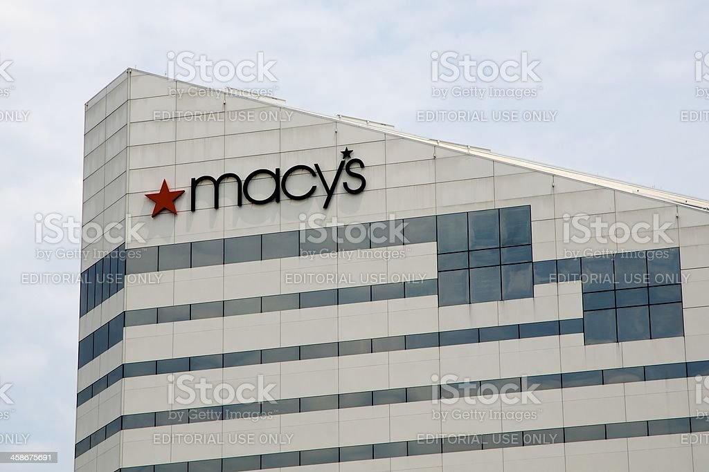 Macy's Cincinnati headquarter building stock photo