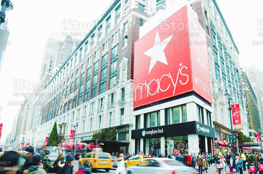 Macy's, Herald Square, New York City stock photo