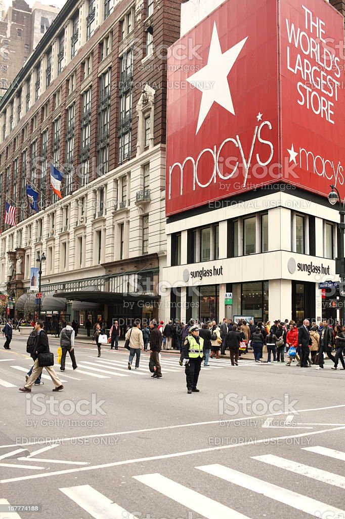 Macy's Herald Square royalty-free stock photo