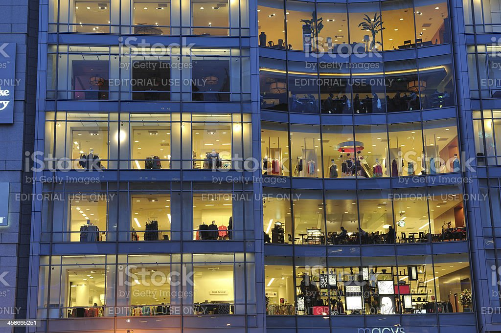 Macy's in Downtown San Francisco royalty-free stock photo
