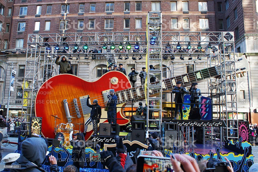 Macys parade Gibson 2013 stock photo