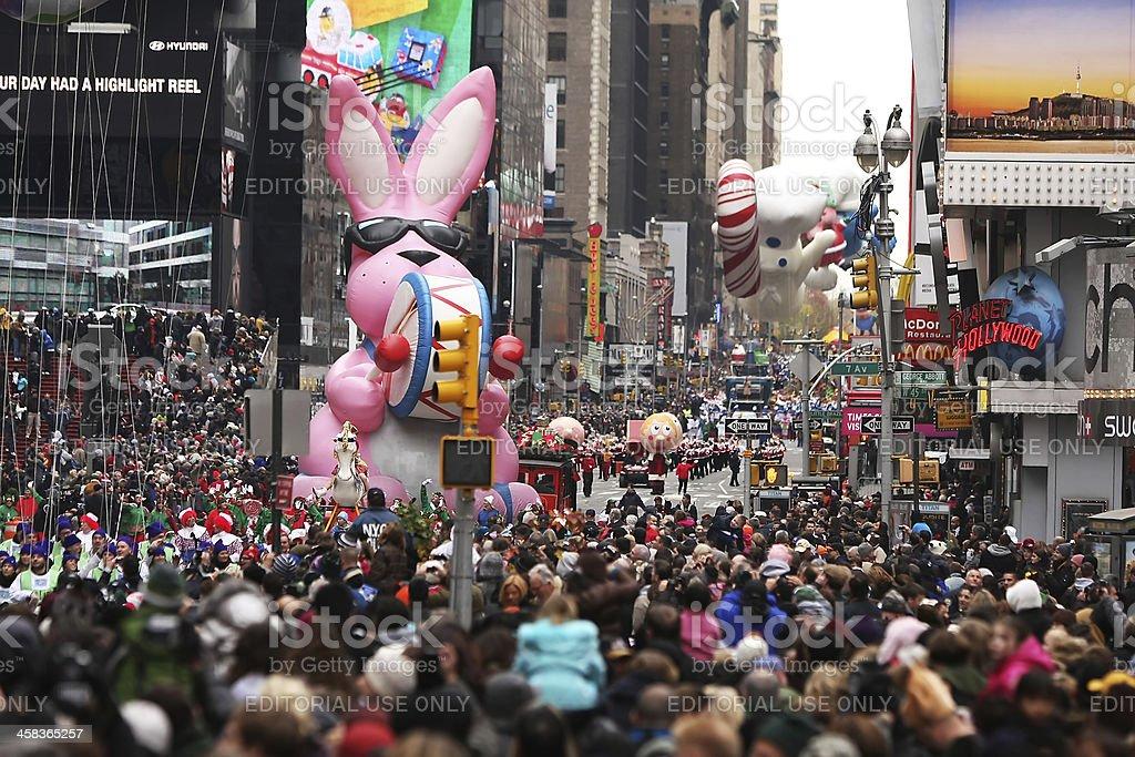 Macy's Thanksgiving Day Parade stock photo