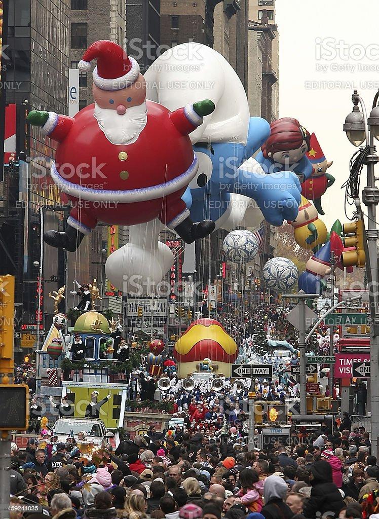 Macy's Thanksgiving Day Parade royalty-free stock photo