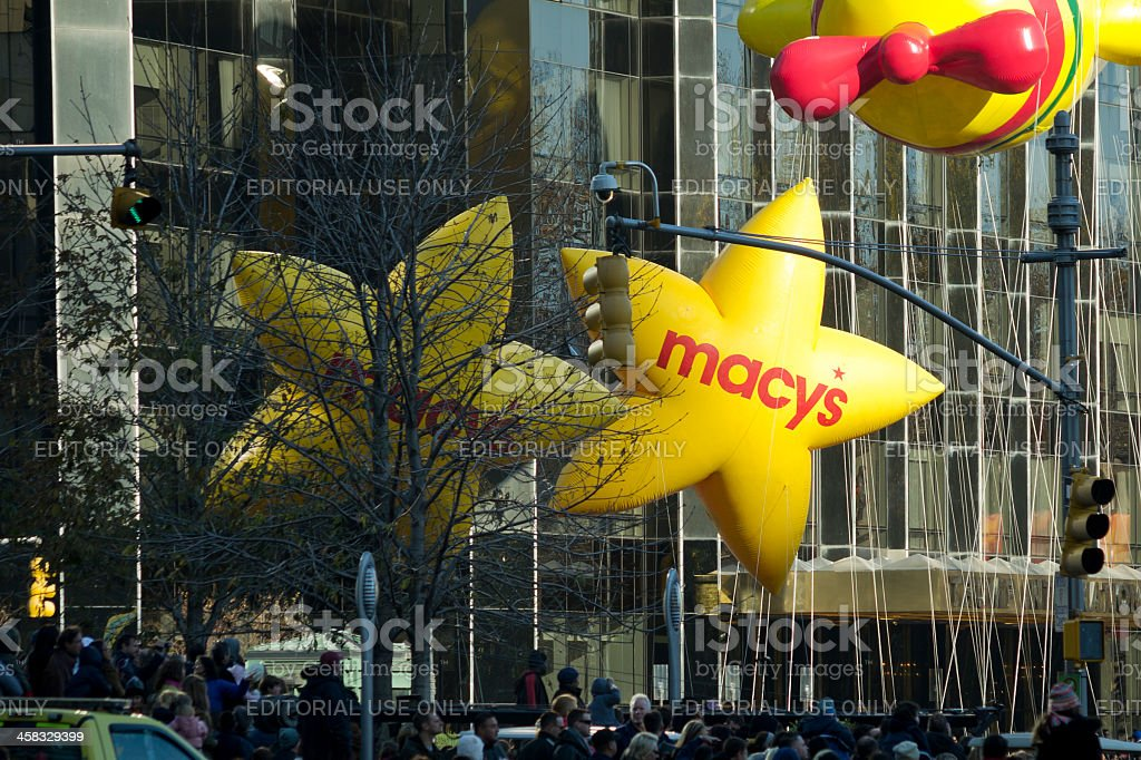 Macy's Thanksgiving Day Parade, Stars royalty-free stock photo