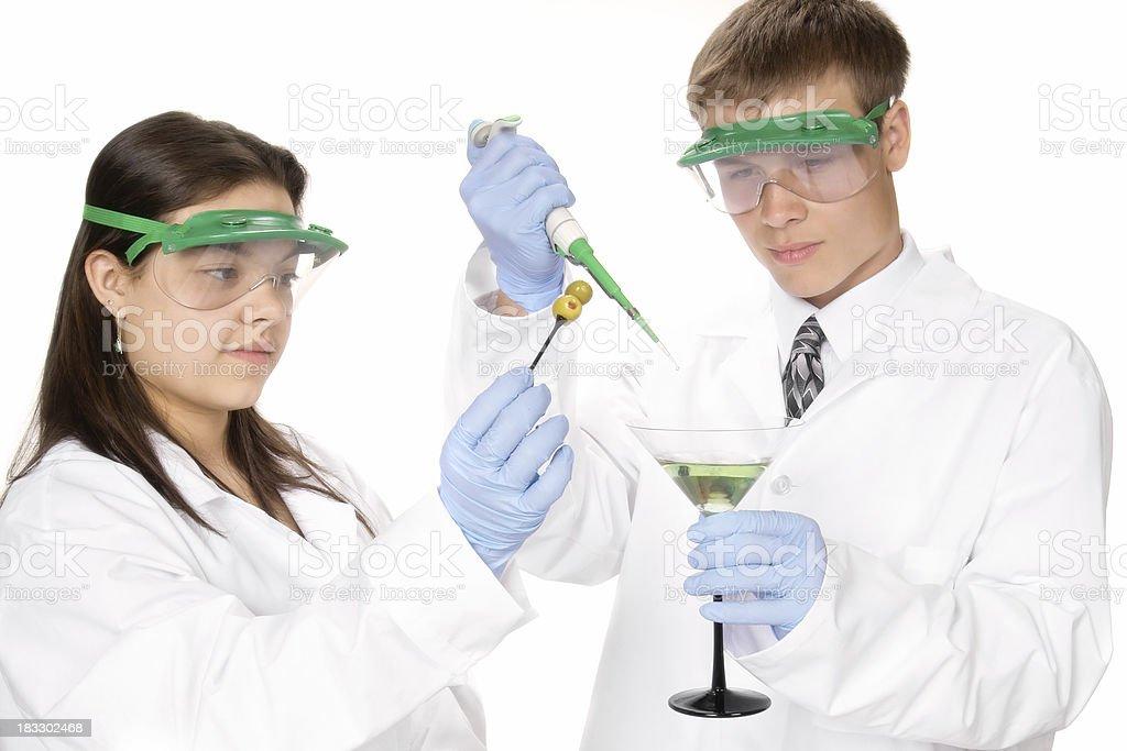 Mad Mixologists royalty-free stock photo
