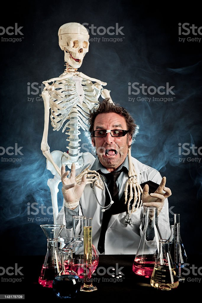 Mad Science stock photo