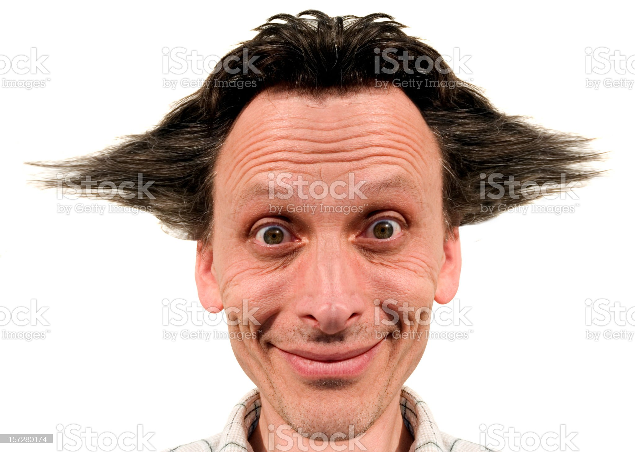 Mad Scientist royalty-free stock photo