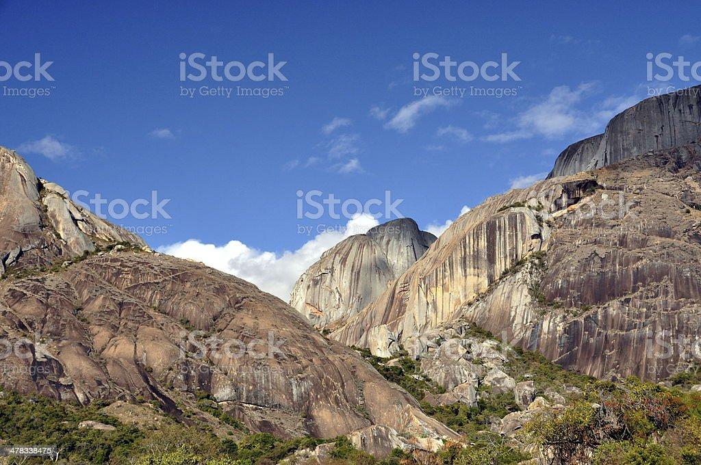 Madagascar Countryside royalty-free stock photo