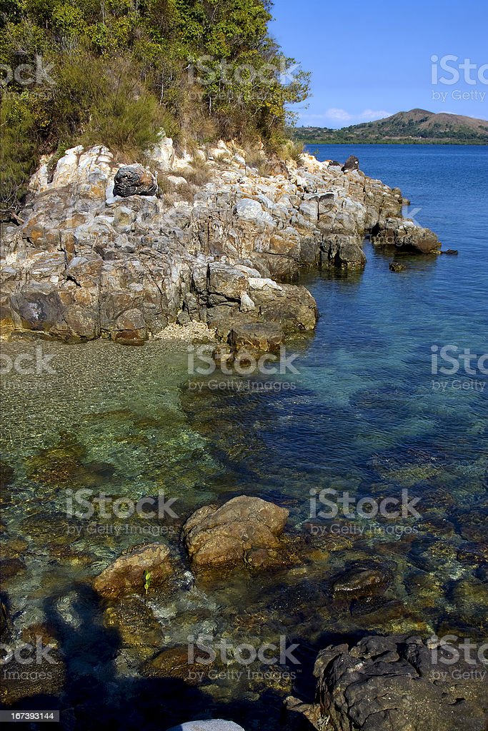 madagascar lagoon kisimamy bay royalty-free stock photo