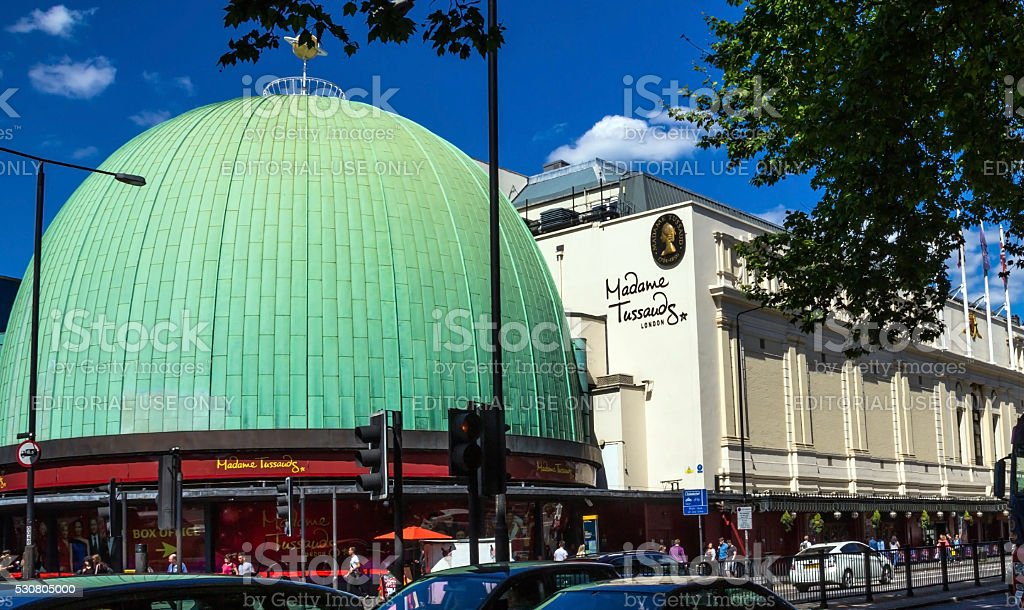 Madame Tussauds museum in London stock photo