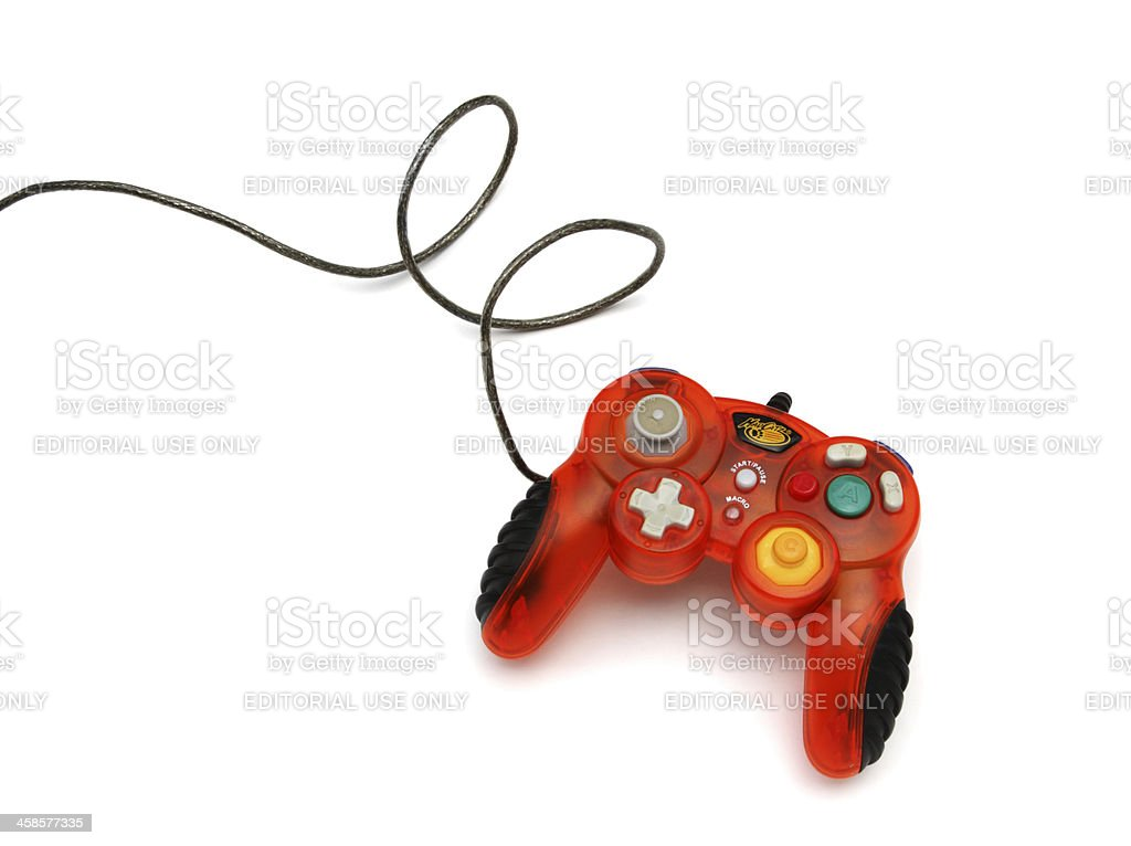 Madcatz video game controller gamepad stock photo