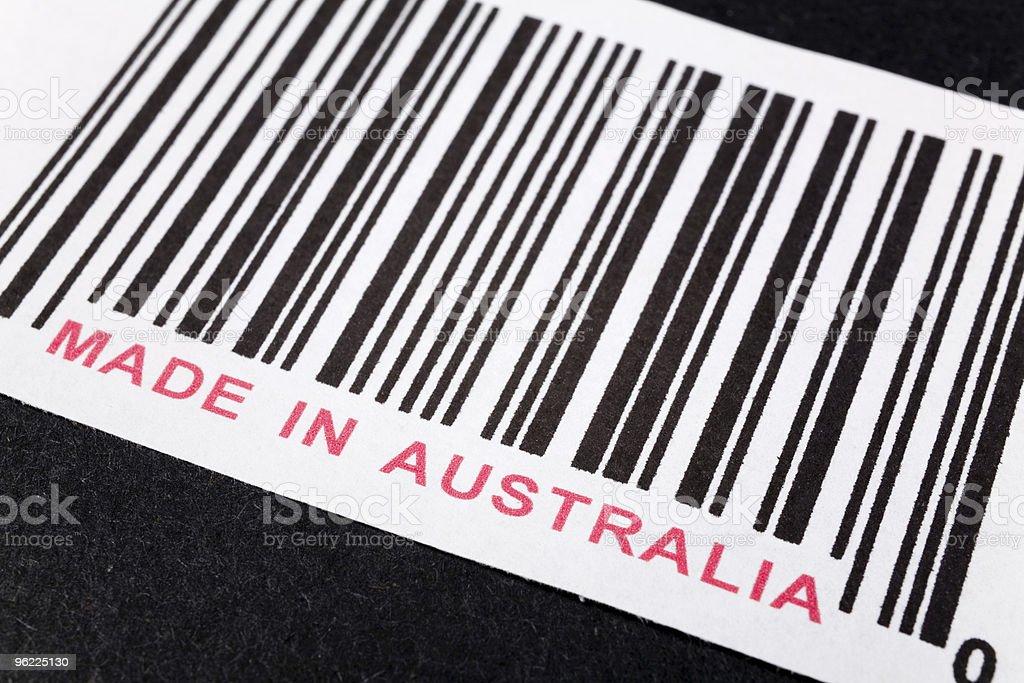 Made in Australia stock photo