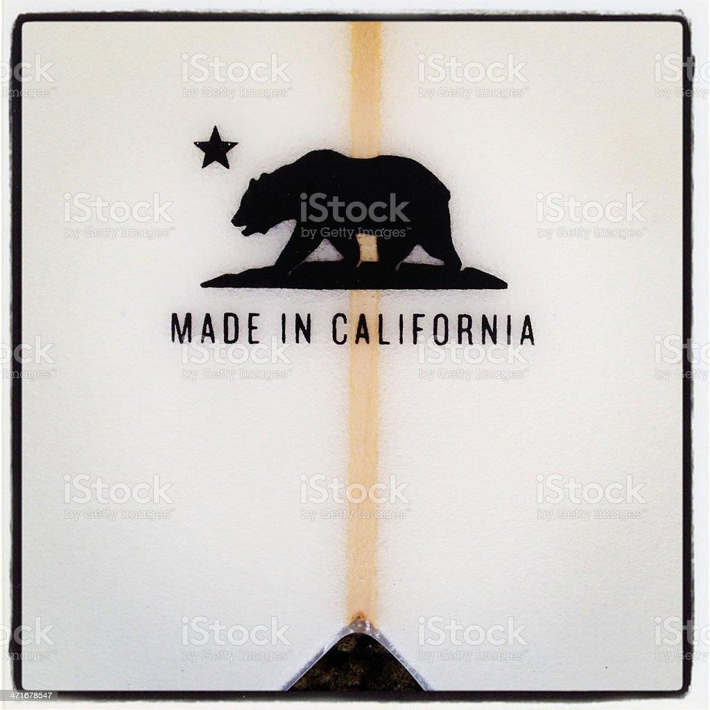 made in california stock photo